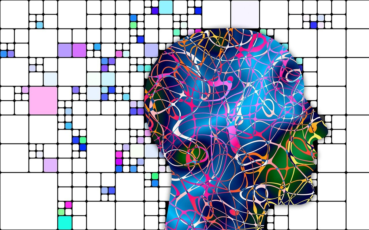 chaos surrounding person's head