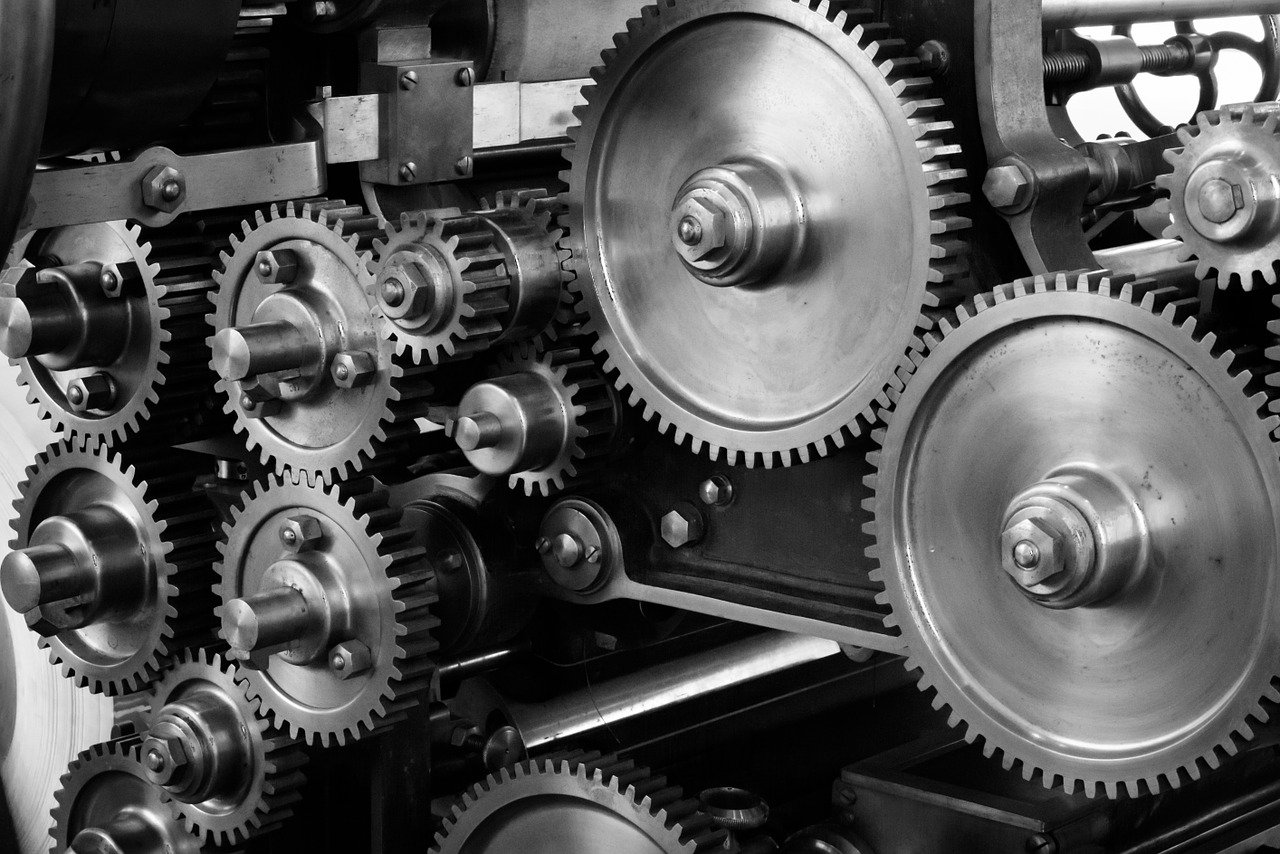 gears of machinery