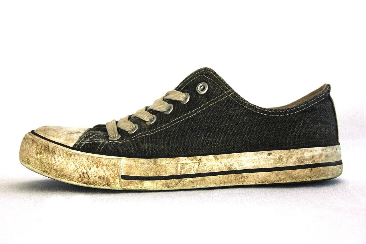 old sneaker